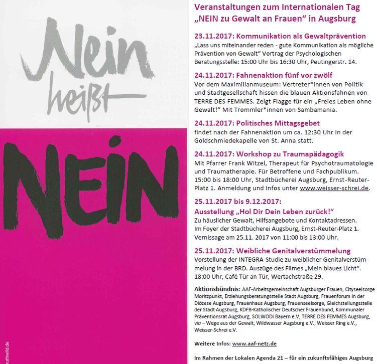 Aktuelles archive wei er schrei kunstprojekte gegen Ligne roset augsburg